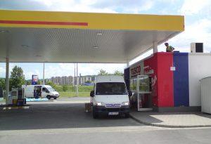 Benzinkúti rendszer